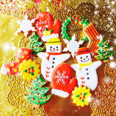 クリスマス☆アイシングクッキー