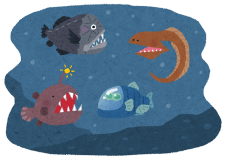 科学教室 ~海と深海たんけん~