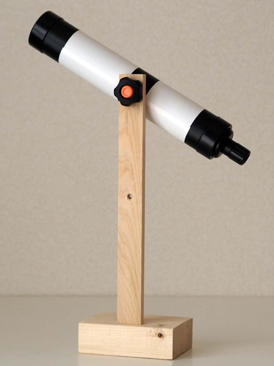 星空教室 天体望遠鏡を作ろう!